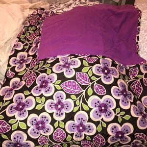 Vera Bradley fleece blanket